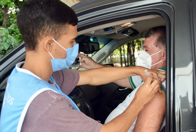 csm Vacinacao JP 8314f723ef - Paraíba é segundo estado do Brasil que mais vacinou com a segunda dose contra a Covid-19