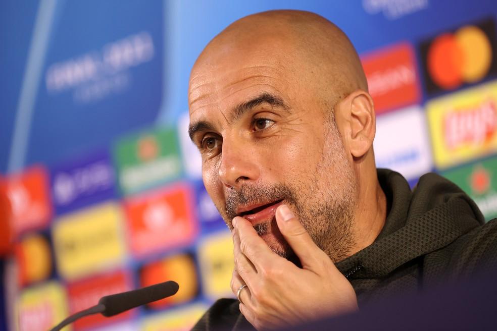 """gettyimages 1320503904 - Na véspera da final, Guardiola se mostra tranquilo: """"Sei exatamente como vamos jogar"""""""