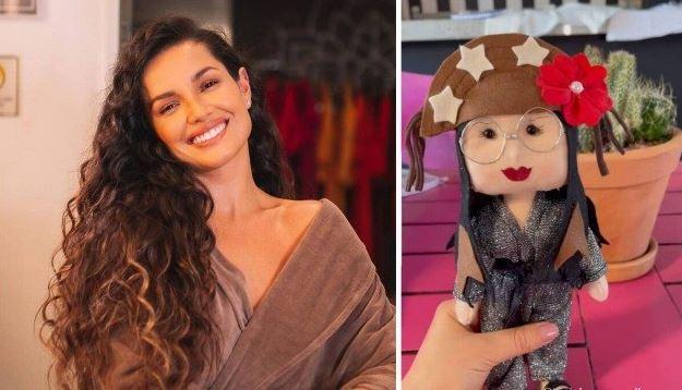 jjj 1 - Juliette fica encantada com bonecas feitas em sua homenagem por presidiárias