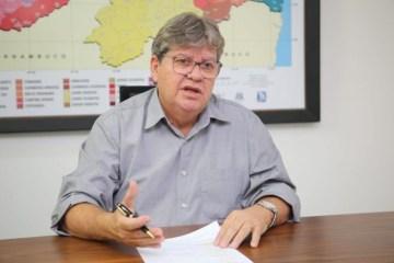 João Azevêdo será o quinto governador da Paraíba a concorrer à reeleição