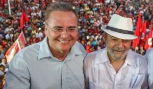 lula e companheiro renan 300x176 - Convidado por Lula, Renan Calheiros recusa encontro e diz que relator deve ser imparcial