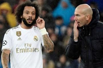 Marcelo é cortado de lista do Real Madrid após discussão com treinador Zidane