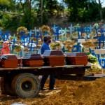 mortes covid 10 brasil - Brasil registra 2.311 mortes por covid; total supera 425 mil