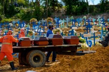 mortes covid 10 brasil - ÚLTIMO LUGAR: Brasil tem pior desempenho em ranking que avalia lugares para se viver durante pandemia