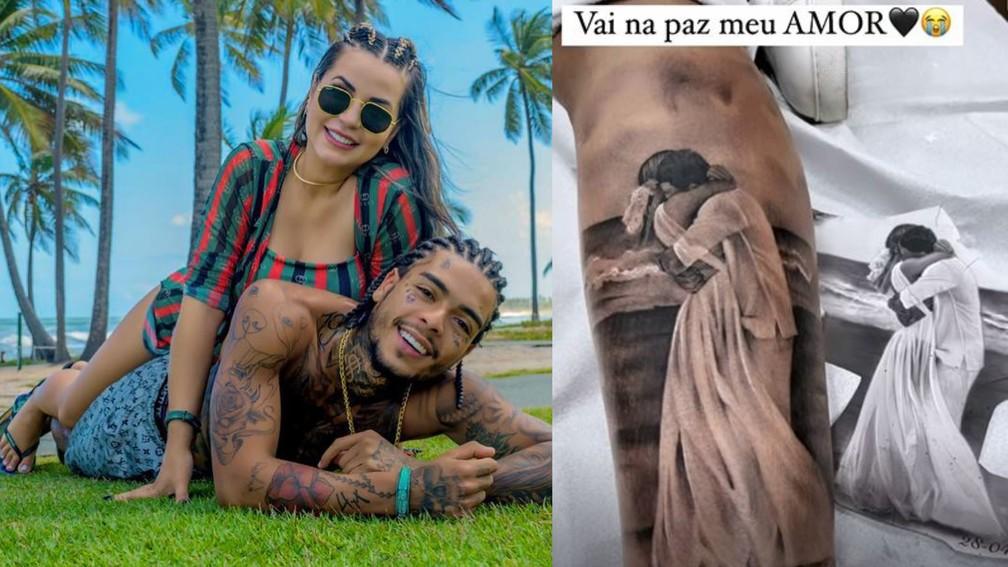 new project 46  - Viúva de MC Kevin faz tatuagem em homenagem ao cantor: 'No meu coração, só momentos bons' - VEJA VÍDEO
