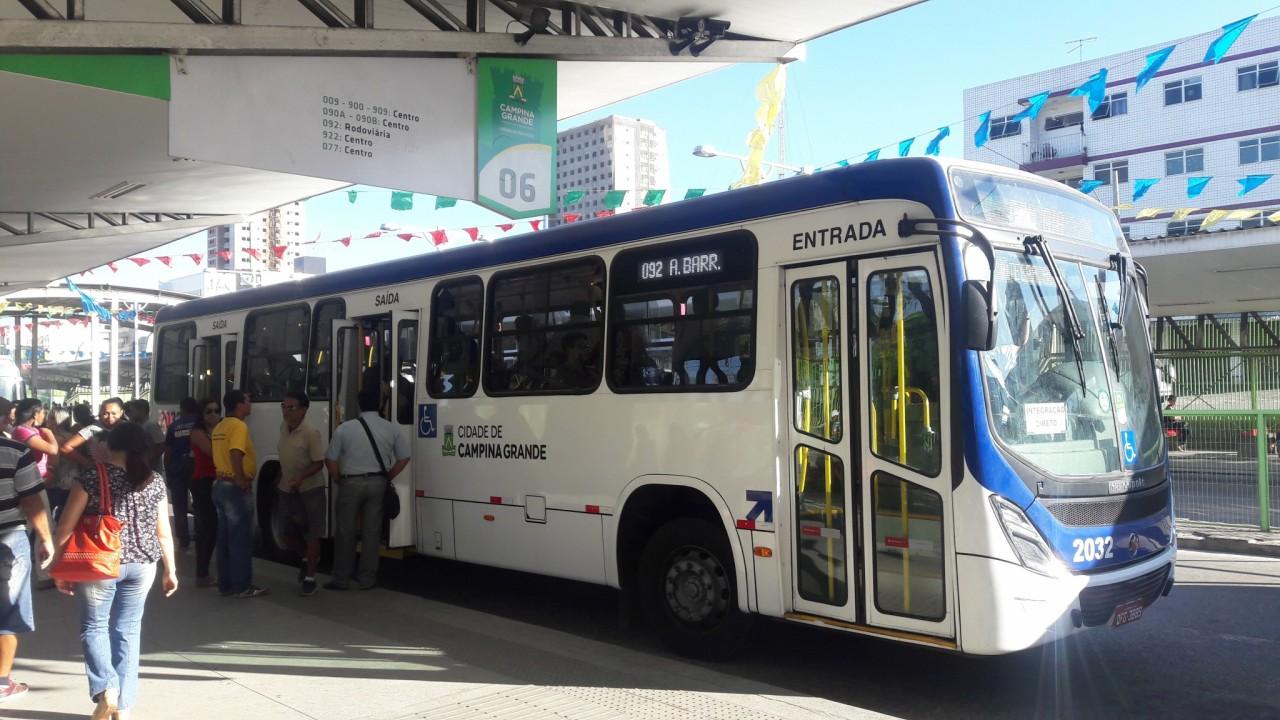 onibus cg divulgacao codecom cg - Campina Grande tem frota de ônibus reduzida a 60% circulando no Dia do Trabalho