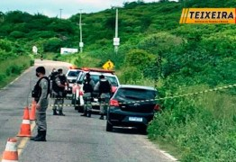 Dois corpos de homens são encontrados dentro de carro na Serra do Teixeira
