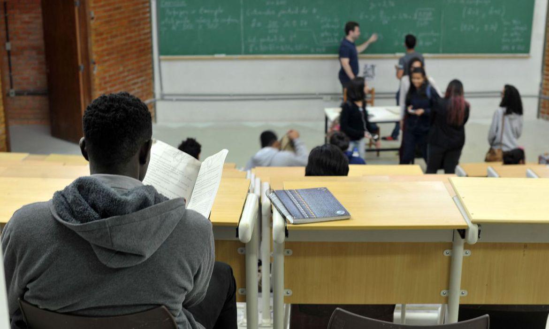 sala de aula - Começam inscrições para bolsas remanescentes do Prouni