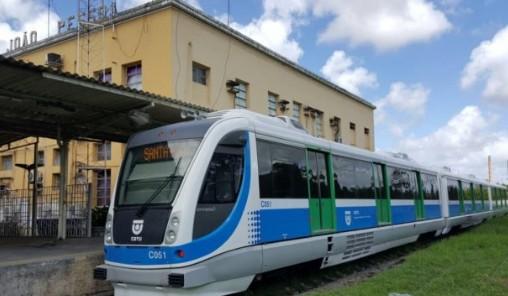 trem - CBTU informa que trens não irão operar entre Mandacaru e Cabedelo, neste sábado (22)