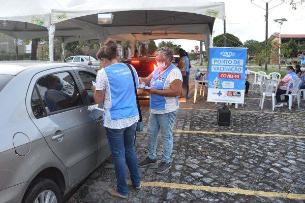 vacinacao - IMUNIZAÇÃO: Prefeitura de João Pessoa amplia público e vacina professores do ensino superior com idade de 30 anos ou mais, nesta segunda