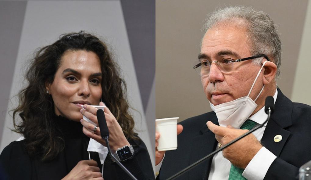 1623234865969715 - Médica Luana Araújo rebate Marcelo Queiroga e diz topar acareação com o ministro na CPI