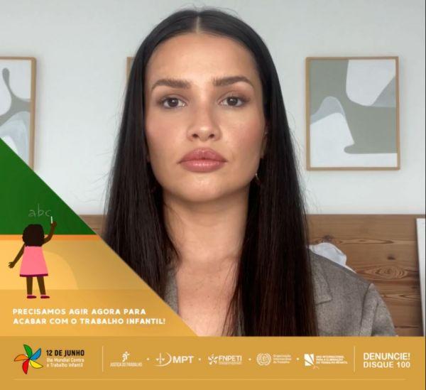 53fd0e7f82e205bec2768fb8baa4dbdc w600 - 'INFÂNCIA FOI FEITA PARA SONHAR': Juliette se engaja em campanha contra a exploração do trabalho infantil; VEJA VÍDEO