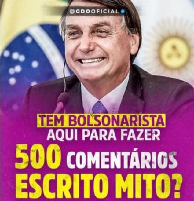 Capturar 75 - FALTA DE HUMANIDADE: apoiadores do presidente Bolsonaro fazem piada com a marca de 500 mil mortes pela covid
