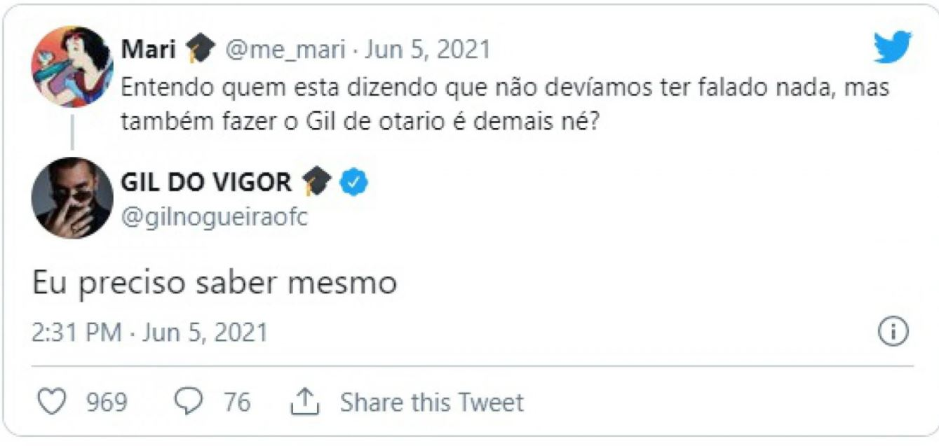 Capturar.JPGmjn - Fãs de Gil do Vigor desaprovam campanha feita com Lucas Penteado