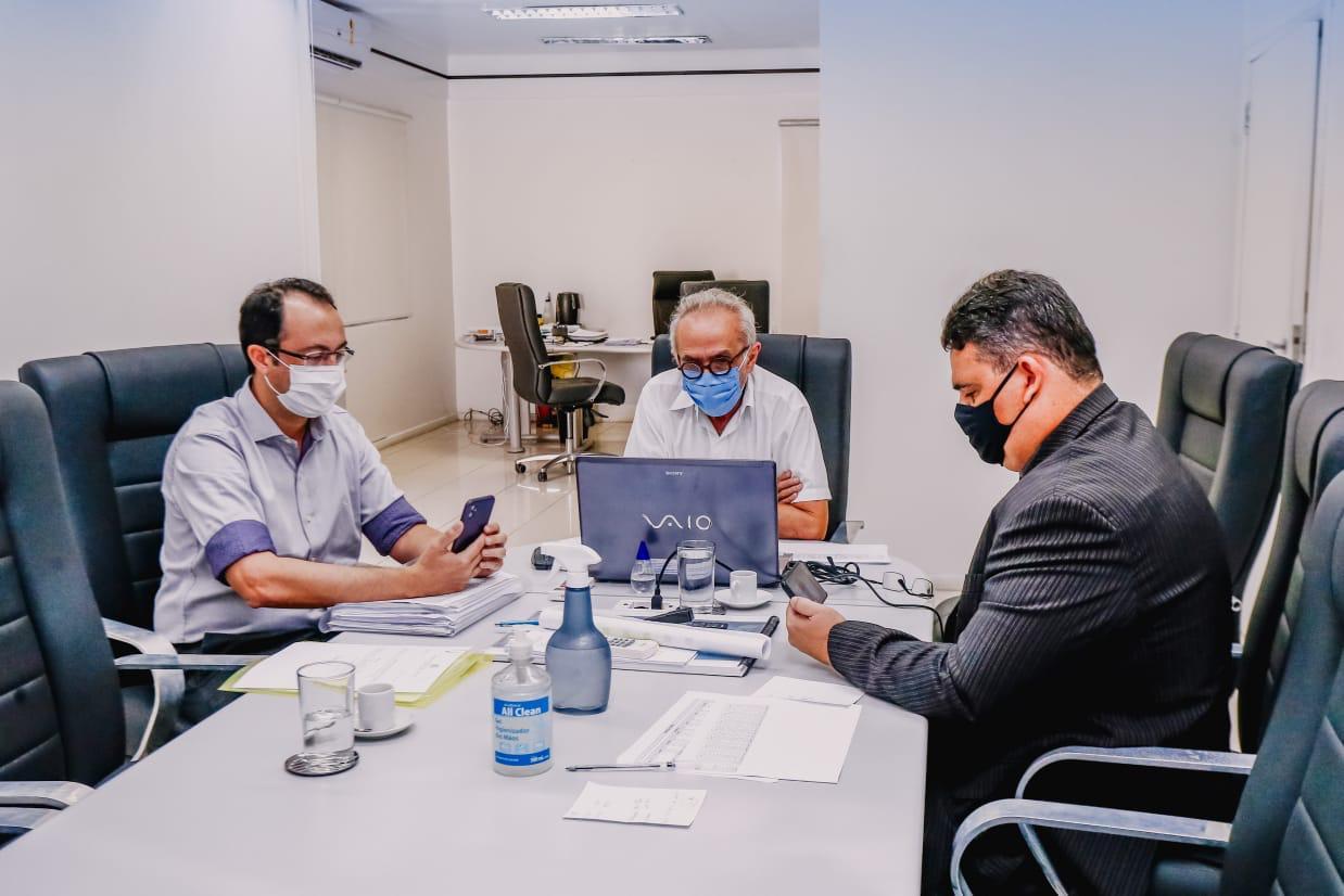 WhatsApp Image 2021 06 10 at 12.48.19 - Prefeitura de João Pessoa e Tribunal de Contas discutem quadro de servidores