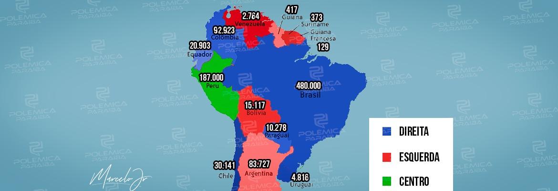 WhatsApp Image 2021 06 10 at 14.40.31 - DIREITA OU ESQUERDA: veja o cenário dos governos da América do Sul e a situação da pandemia