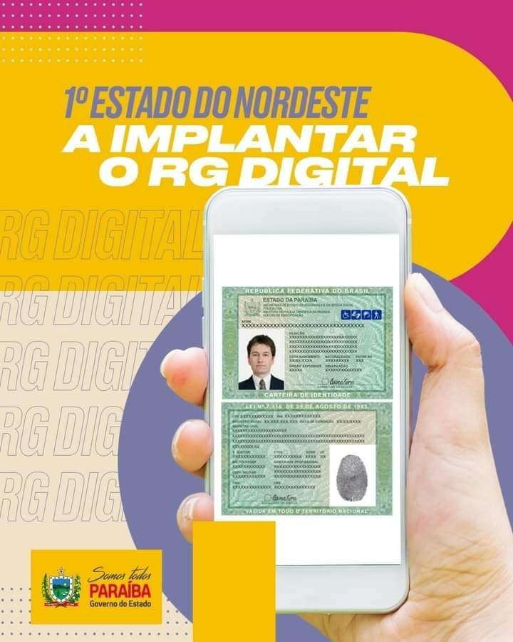 WhatsApp Image 2021 06 16 at 19.27.46 - Paraíba é o primeiro estado do Nordeste a implantar o RG digital