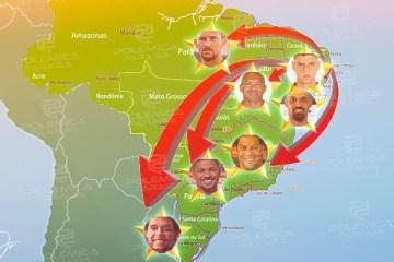 ELES BRILHAM PELO BRASIL! Veja quem são os jogadores paraibanos que jogam em grandes clubes nacionais
