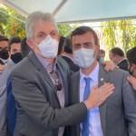 WhatsApp Image 2021 06 22 at 14.16.28 e1624384118689 - Ricardo Coutinho marca presença em filiação de Marcelo Freixo ao PSB - VEJA