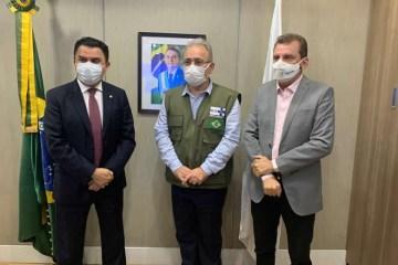 Chico Mendes se reúne com Ministro da Saúde em busca de recursos para o Hospital de São José de Piranhas