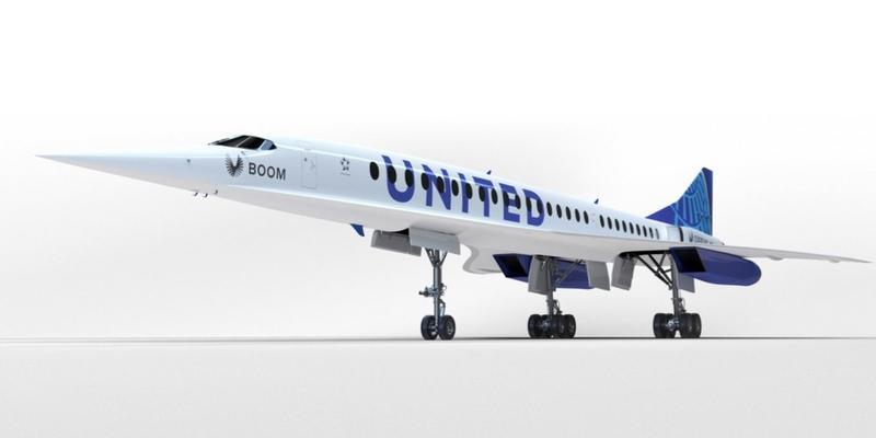 aviao supersonico - United compra aviões que podem voar de SP a NY em menos de 6 horas