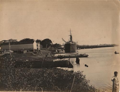construcao do porto do varadouro 1920 humberto nobrega - BOTARAM LAMA? Saiba porque o porto instalado em Cabedelo não foi construído em João Pessoa