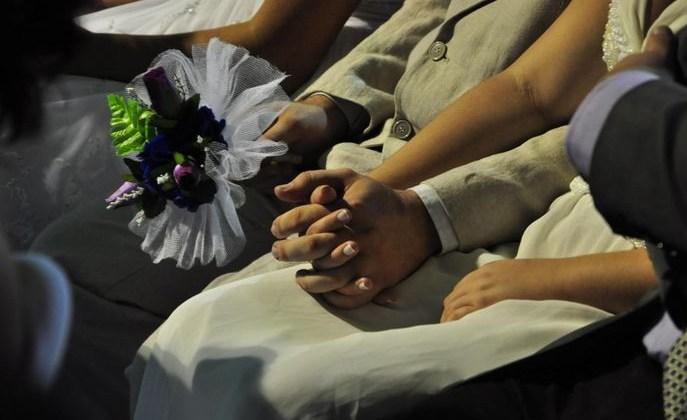 Casamento Coletivo une 20 casais em Campina Grande
