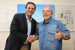 eduardo paes lula 300x200 - Lula vai ao Rio de Janeiro e se encontra com Eduardo Paes, artistas e lideranças