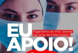 Bosco Carneiro declara apoio ao pagamento do piso nacional para os profissionais da enfermagem