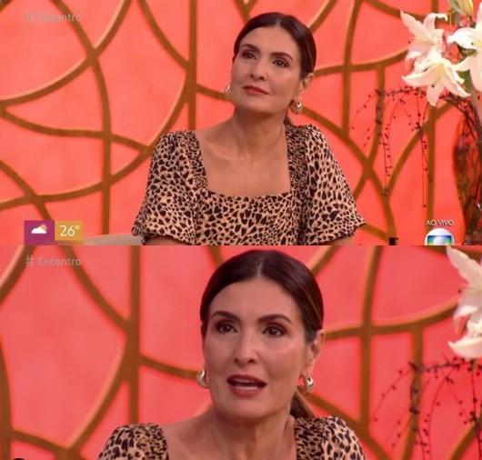fatima - Fátima Bernardes se emociona e chora ao descobrir que inspirou idosa a se vacinar