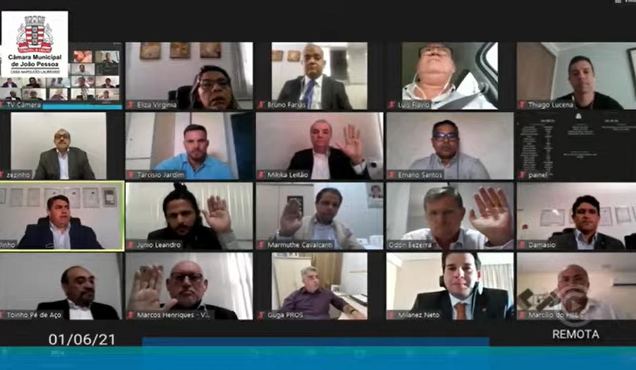 image - Câmara de João Pessoa aprova Reforma da Previdência municipal em primeiro turno