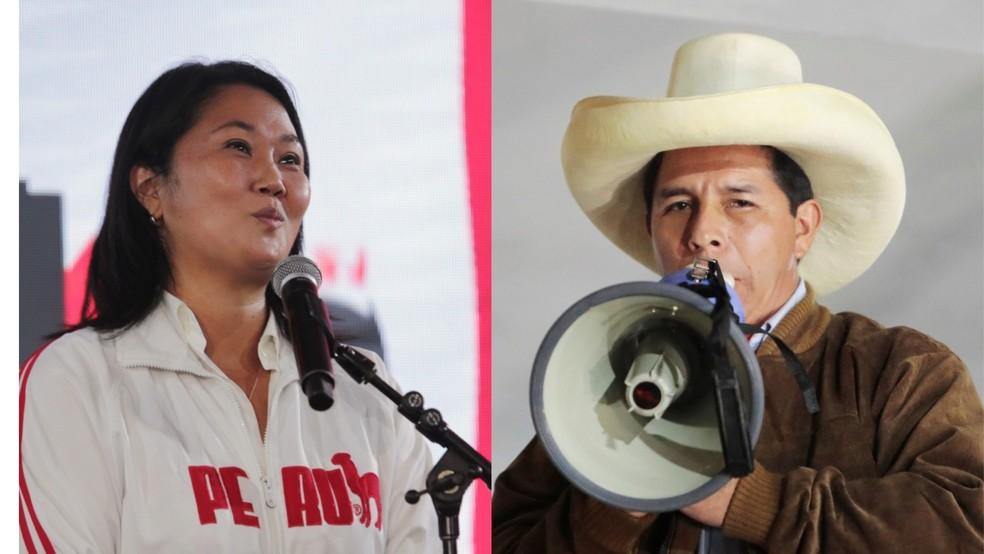 keiko fujimori x castillo - Pedro Castillo amplia vantagem no Peru; Keiko Fujimori fala em fraude