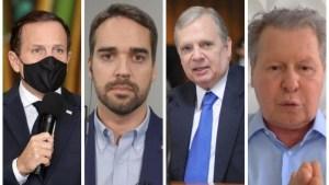 pre candidatos as previas do psdb nas eleicoes de 2022 300x169 - PSDB define como serão as prévias para decidir candidato a presidente em 2022; reunião expõe divisão entre SP e MG