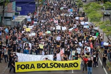 """protestos - Brasil vai às ruas para gritar """"Fora Bolsonaro!"""" no dia das 500 mil mortes - Por Balaio do Kotscho"""