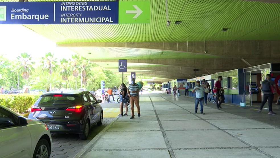 rodoviaria de jp3 - CLIMA DE FESTA? Rodoviária de João Pessoa prevê cerca de 100 mil passageiros durante mês do São João