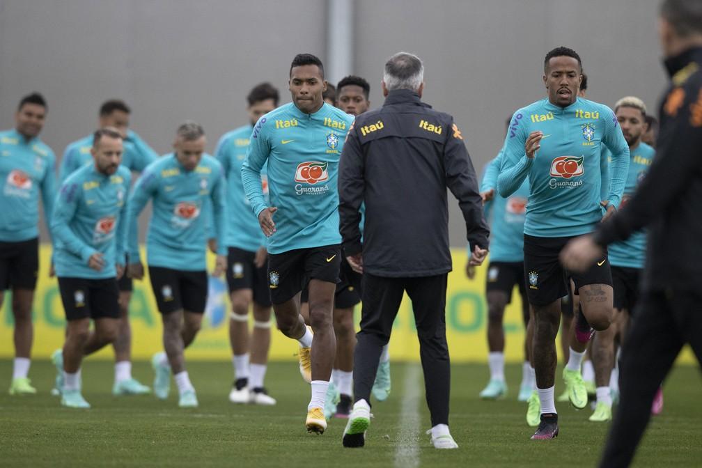 selecao brasileira - Jogadores da seleção brasileira decidem disputar a Copa América; evento começa no próximo domingo