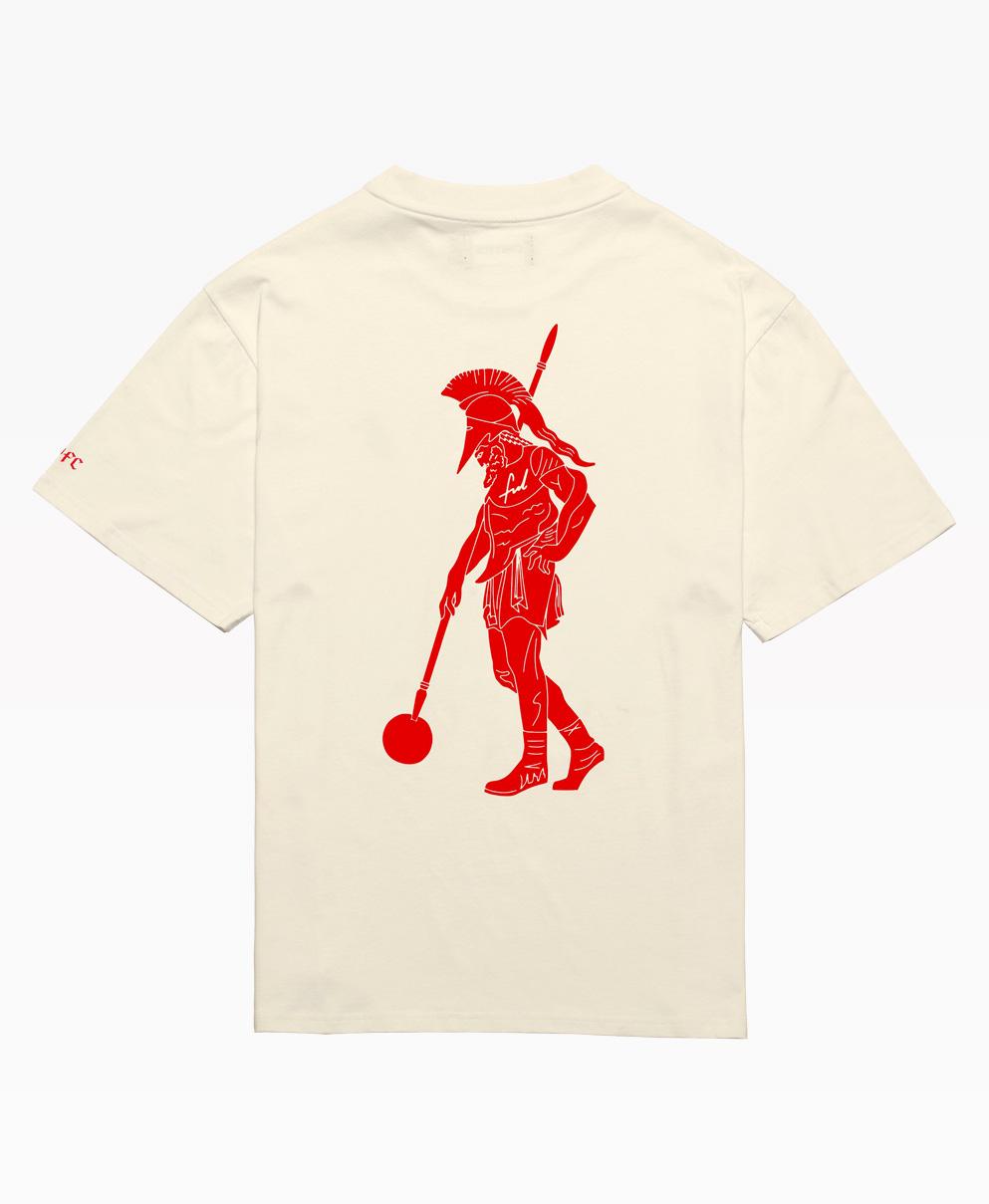 Chrystie Swfc Fnl Warrior T Shirt : Cream Back