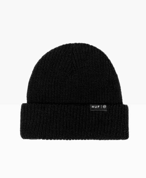 Huf Usual Beanie Black Front