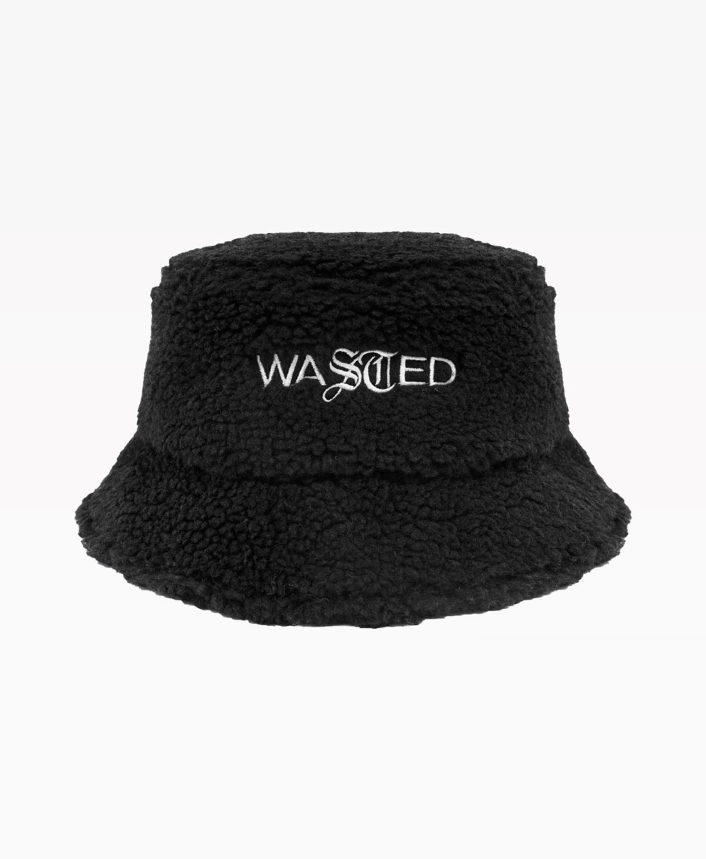 Wasted Bob Sherpa Noir Front