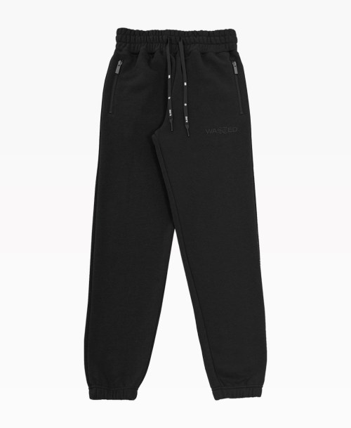 Wasted Jogging Essentiel Noir Front