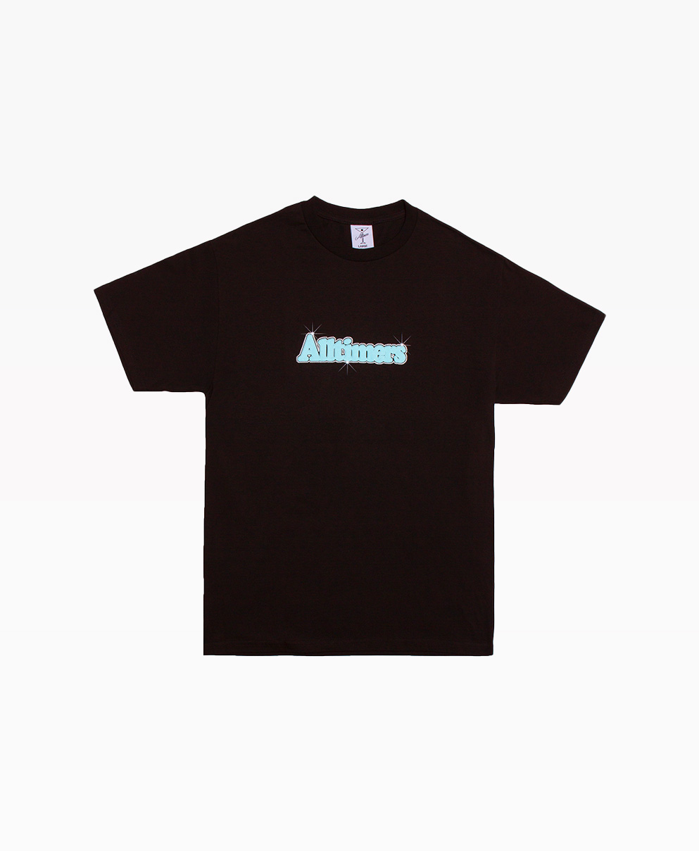 Alltimers Barbay Broadway Logo Tee Black Front