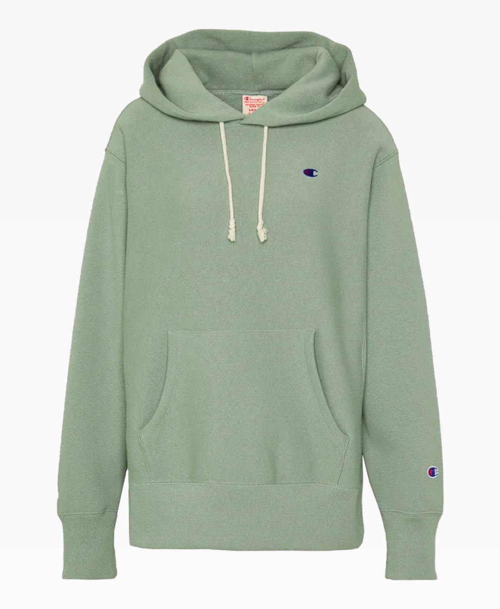 Champion Hooded Reverse Weave Hoooded Front