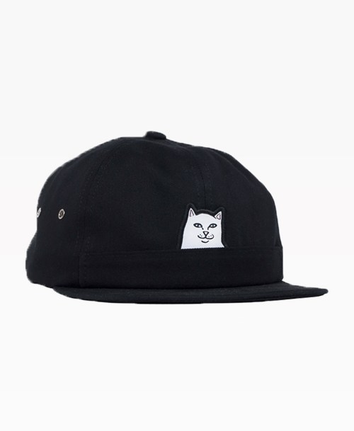 Ripndip Lord Nermal 6 Panel Black Front