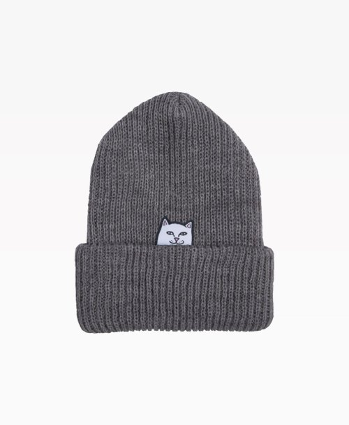 Ripndip Lord Nermal Beanie Grey Front