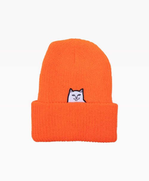 Ripndip Lord Nermal Beanie Orange Front