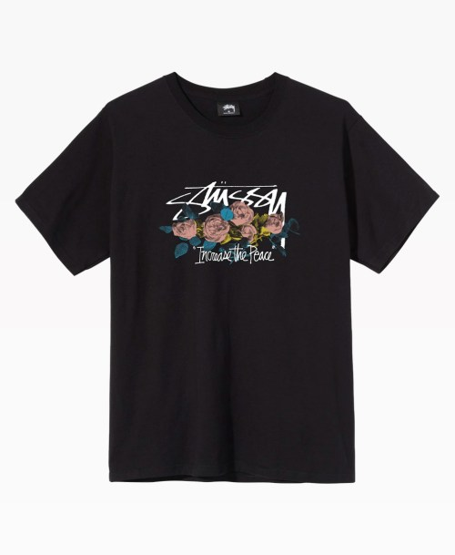 Stussy Roses Tee Front