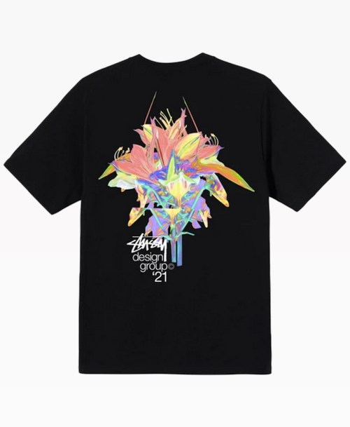 Stussy Design Group 21 Tee Black Back