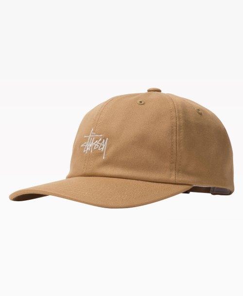 Stussy Stock Low Pro Cap Khaki Front