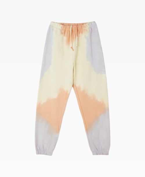 Obey Clothing Sustainable Tie Dye Sweatpant Pheasant Front