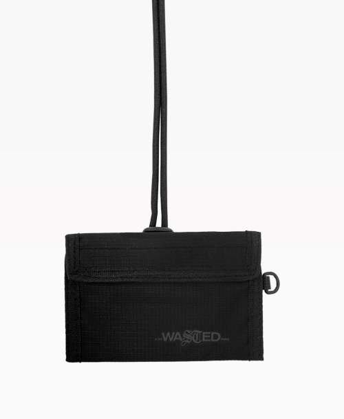 Wasted Summer Wallet Black Front